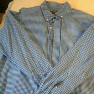 Mens long sleeve shirt by Cremieux size XL